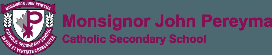 Monsignor John Pereyma Catholic Secondary School Logo