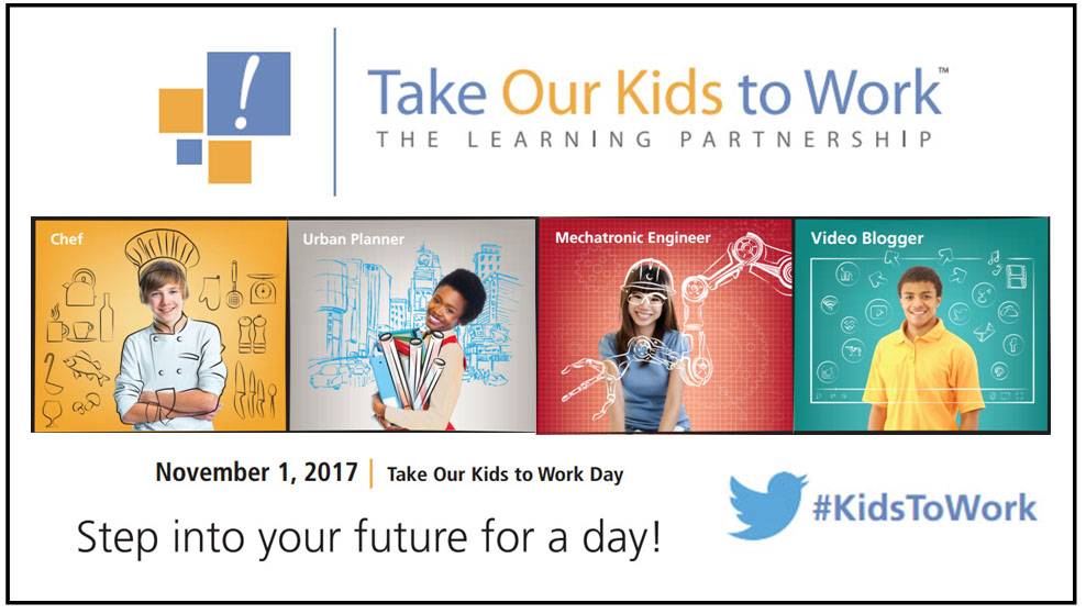 Take Our Kids to Work Day 2017