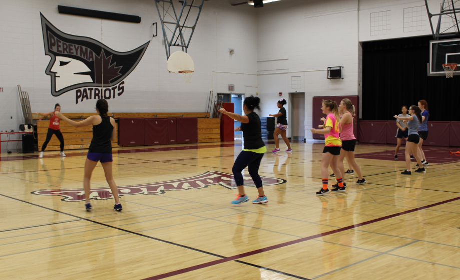 Zumba Class on CBL Day